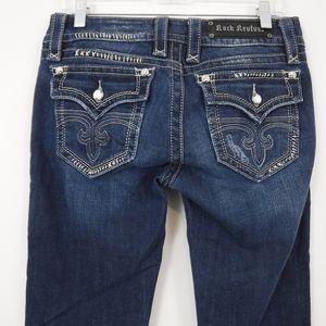 Rock Revival Celine Boot Cut Jeans Size 31